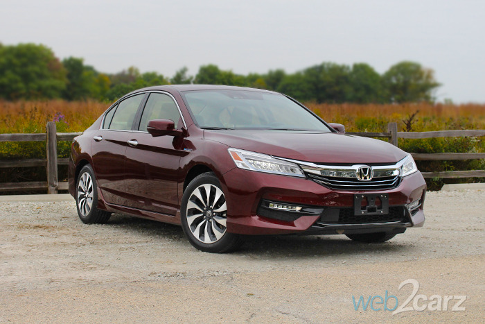 2017 Honda Accord Touring Hybrid Review A That Doesn T Necessarily Look It