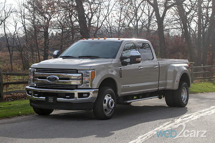 2017 ford f 350 drw 4x4 super duty review web2carz. Black Bedroom Furniture Sets. Home Design Ideas