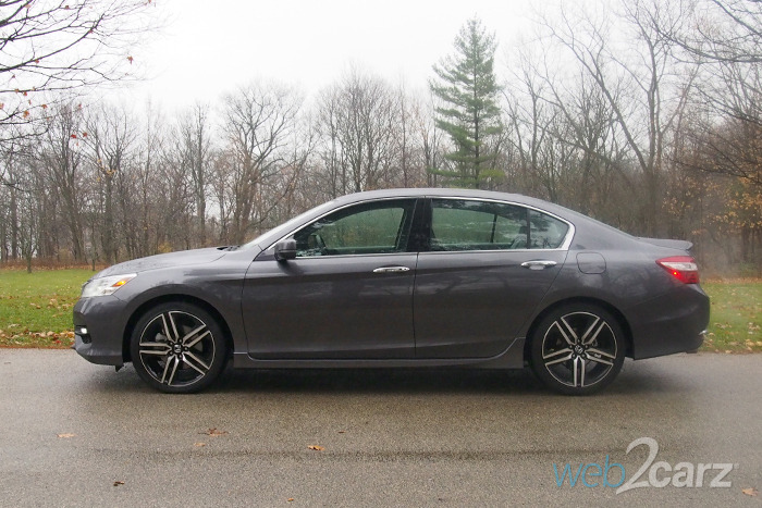 2017 Honda Accord V6 Touring Review Web2carz