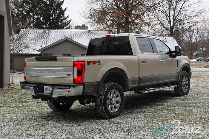 2017 ford f 250 super duty king ranch crew cab 4x4 review web2carz. Black Bedroom Furniture Sets. Home Design Ideas