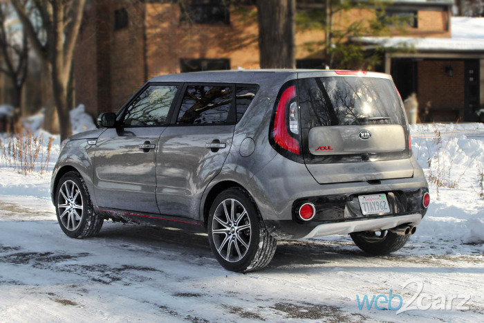 2017 Kia Soul Turbo Review A Sporty Crossover With The Of Hot Hatch