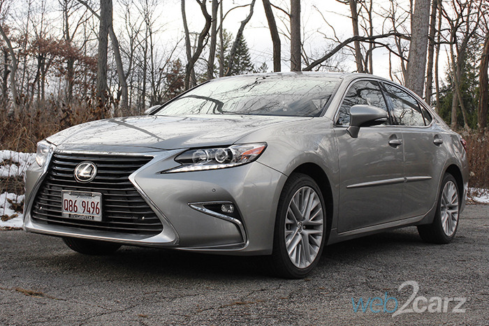 Beautiful 2017 Lexus ES 350 Review  Web2Carz