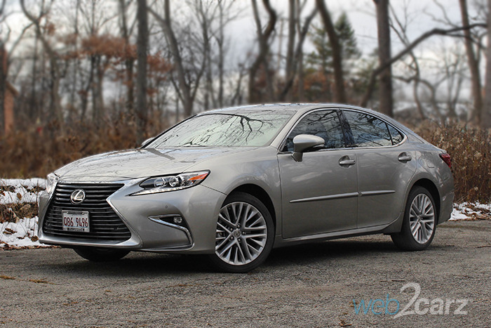 2017 Lexus Es 350 Review Web2carz