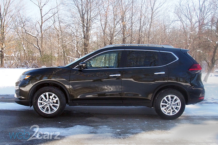 2017 Nissan Rogue Sv Awd Review Web2carz