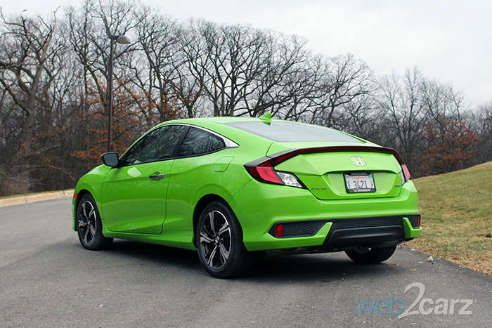 2017 Honda Civic Coupe Touring Review