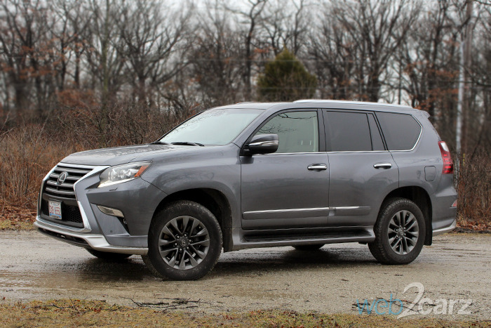 2017 Lexus Gx 460 Luxury Review Web2carz