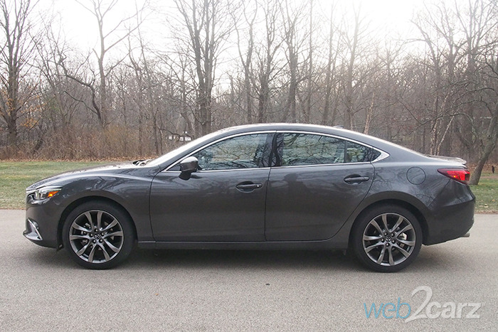 2017 mazda6 i grand touring review web2carz. Black Bedroom Furniture Sets. Home Design Ideas