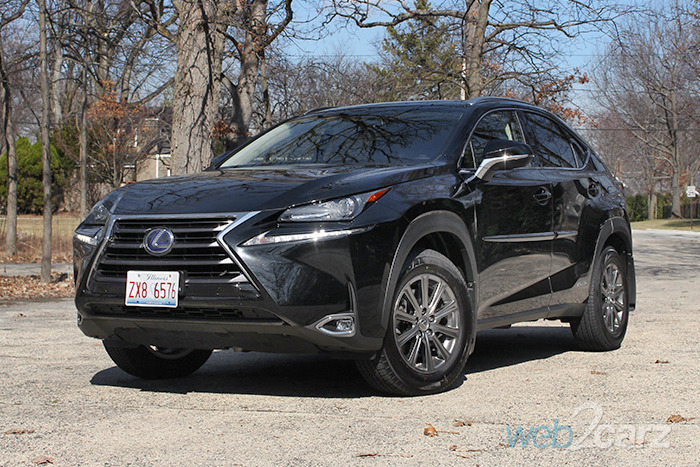 New 2017 Lexus NX 300h Review  Web2Carz