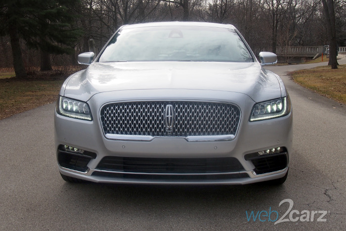 2017 Lincoln Continental AWD Reserve Review