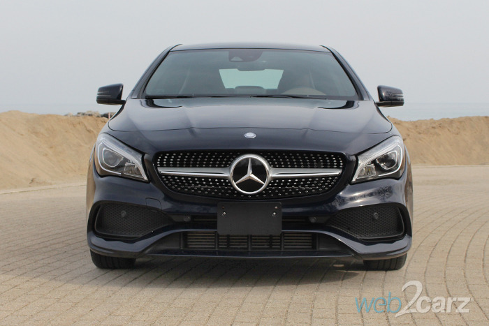 2017 mercedes benz cla 250 4matic review web2carz for Mercedes benz cla 2017