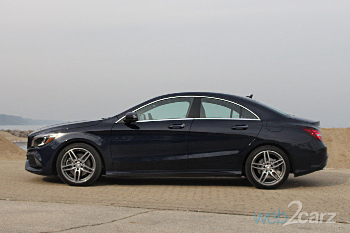 2017 mercedes benz cla 250 4matic review web2carz for Mercedes benz cla 250 review