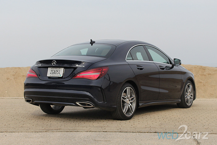 2017 Mercedes Benz Cla 250 4matic Review