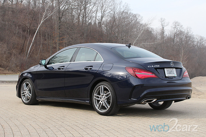 2017 mercedes benz cla 250 4matic review web2carz for What does 4matic mean on the mercedes benz