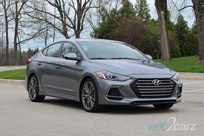 Unique 2017 Hyundai Elantra Sport Review  Carsquarecom