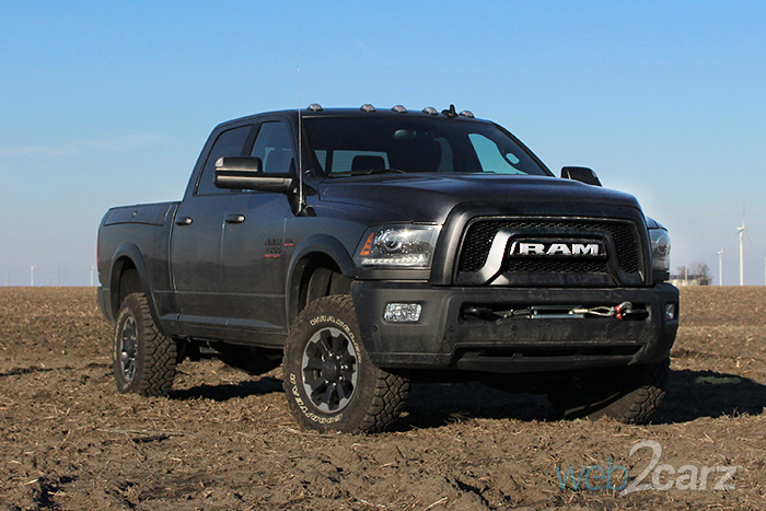 2017 Ram 2500 Power Wagon CC 4x4 Review
