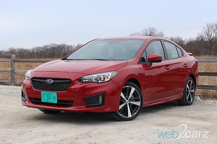 2017 Subaru Impreza 2.0i Sport Review
