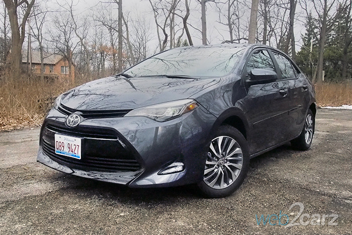 Excellent 2017 Toyota Corolla XLE Review  Web2Carz