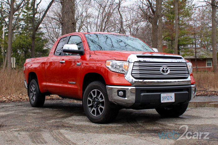 2017 Toyota Tundra Limited Double Cab Review