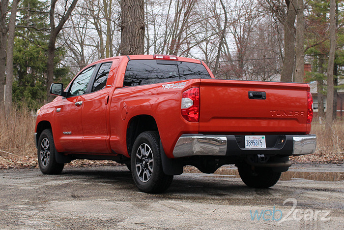 2017 Toyota Tundra Limited TRD Off-Road Double Cab Review ...
