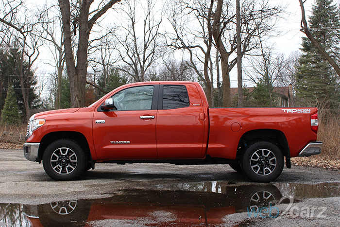 2017 toyota tundra limited trd off road double cab review web2carz. Black Bedroom Furniture Sets. Home Design Ideas