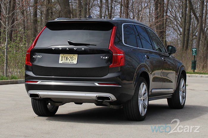 2017 Volvo Xc90 T6 Inscription Review Web2carz