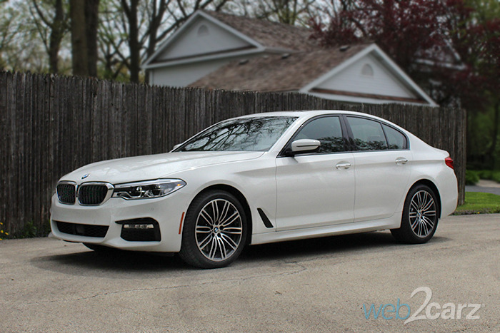 2017 BMW 540i Review
