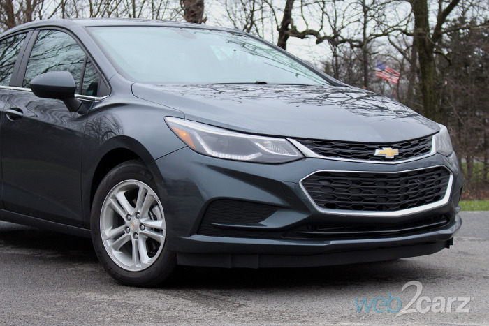 2017 chevrolet cruze diesel review web2carz. Black Bedroom Furniture Sets. Home Design Ideas