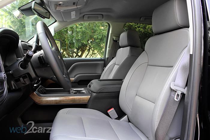 2017 Chevrolet Silverado 2500HD 4WD LTZ Crew Cab Review | Web2Carz