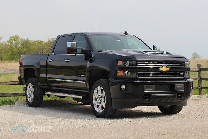 2017 chevrolet silverado 2500hd 4wd ltz crew cab review web2carz. Black Bedroom Furniture Sets. Home Design Ideas