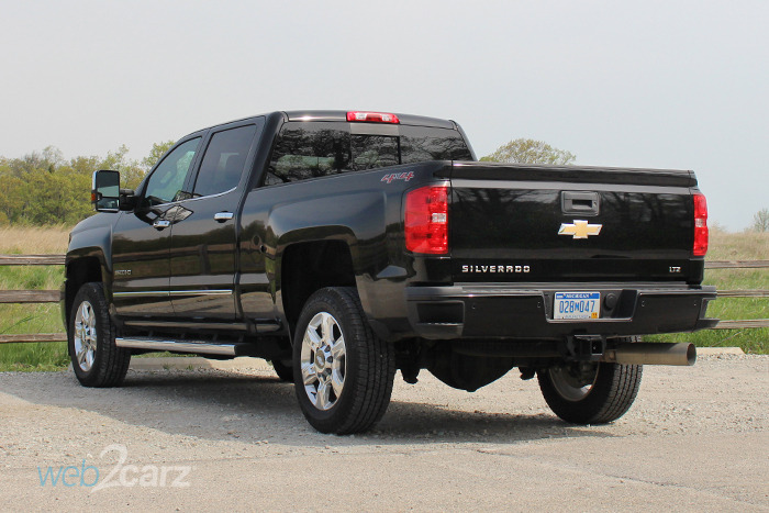 2017 Chevrolet Silverado 2500hd 4wd Ltz Crew Cab Review