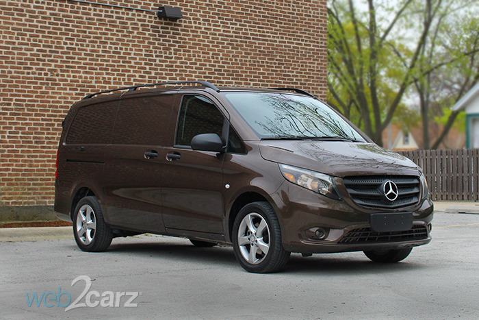 2017 mercedes-benz metris cargo van review | web2carz