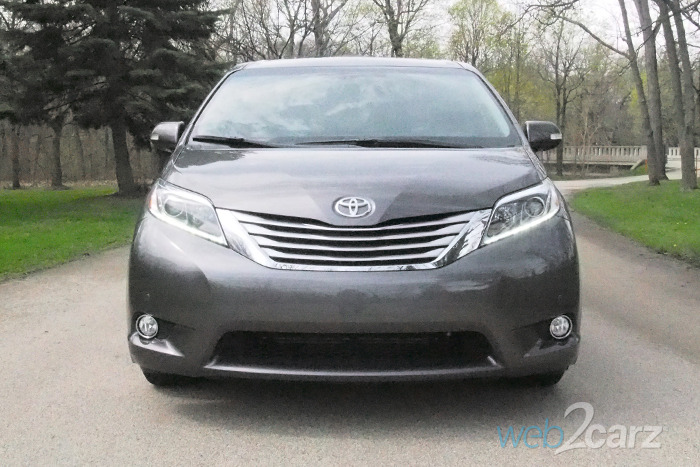 Brilliant 2017 Toyota Sienna Limited Premium AWD Review  Web2Carz