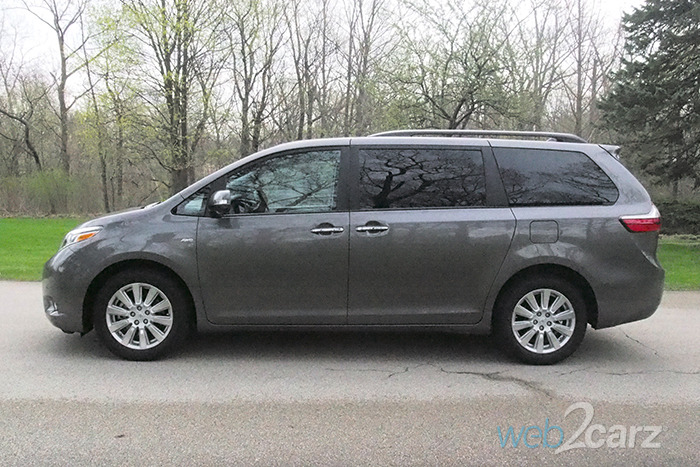2017 toyota sienna limited premium awd review. Black Bedroom Furniture Sets. Home Design Ideas