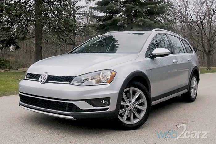 2017 Volkswagen Golf Alltrack TSI SE 4MOTION Review