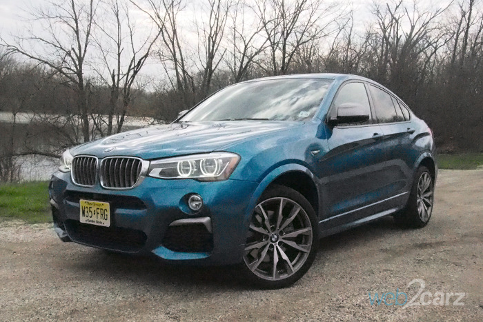 2017 BMW X4 M40i Review