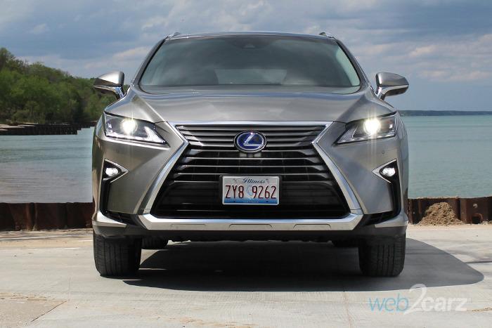 2017 lexus rx 450h review | web2carz