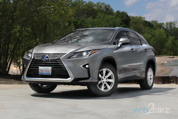 2017 Lexus RX 450h Review