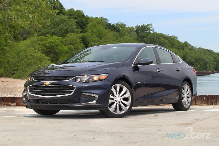 2017 Chevrolet Malibu 2lz Premier Review