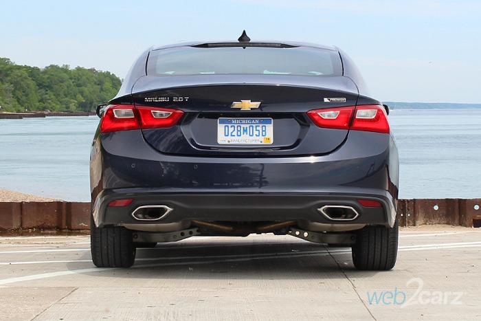2017 Chevrolet Malibu 2lz Premier Review