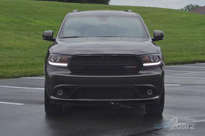 2017 Dodge Durango Gt Blacktop Awd Review Web2carz