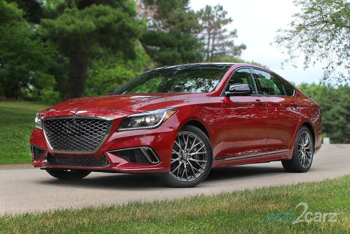 2018 Genesis G80 AWD 3.3T Sport Review
