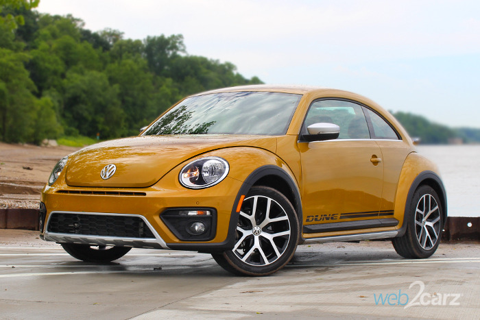 2017 Volkswagen Beetle 1 8t Dune Review