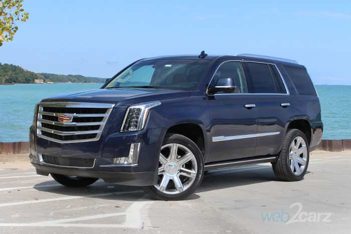2017 Cadillac Escalade 4WD Premium Luxury Review