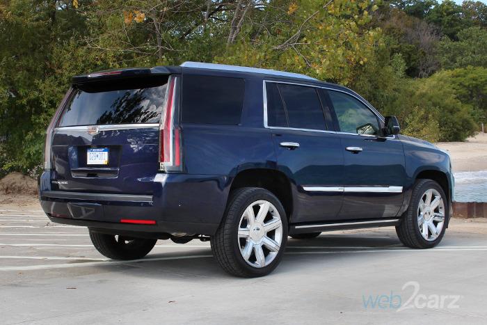 2017 Cadillac Escalade 4WD Premium Luxury Review