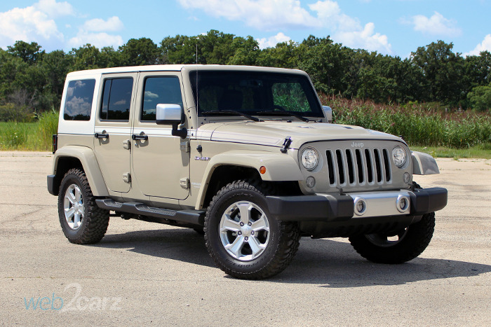 2017 Jeep Wrangler Unlimited Chief 4x4 Review