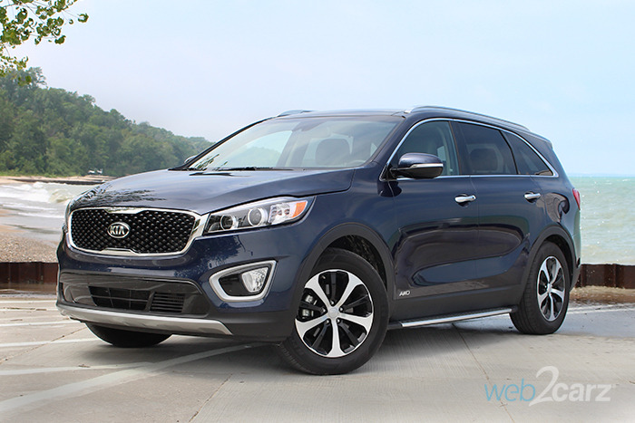 2017 Kia Sorento EX AWD 2.0T Review