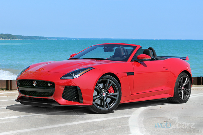 2017 Jaguar F-Type SVR AWD Convertible Review