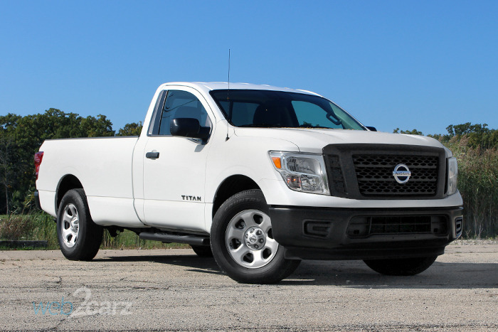 2017 Nissan Titan S Single Cab Review