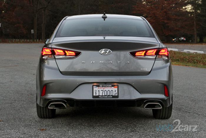 2018 Hyundai Sonata Limited 2.0T Review | Web2Carz
