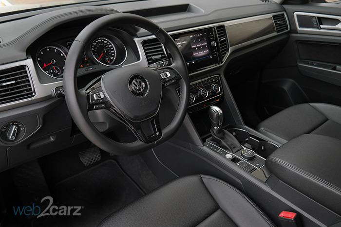 2018 Volkswagen Atlas V6 SEL 4Motion Review | Web2Carz